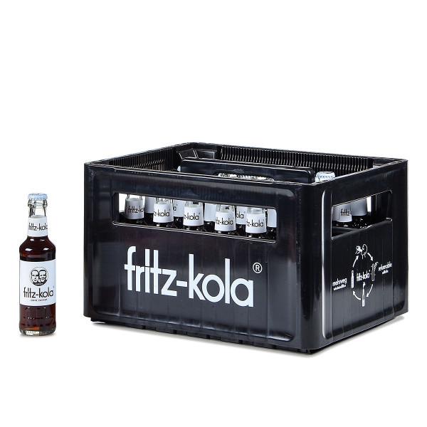 Fritz-Kola ohne zucker gastro 24 x 0,2l