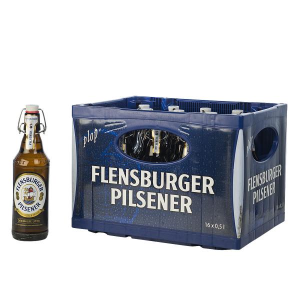 Flensburger Pils 16 x 0,5l
