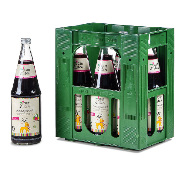 Gut Eden Kinderpunsch alkoholfrei 6 x 1l