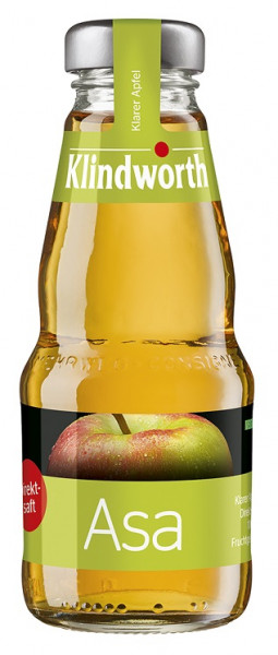 Klindworth Apfelsaft klar 24 x 0,2