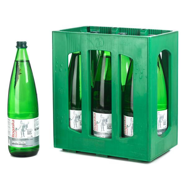 Rogaska Donau Mg Heilwasser in der grünen 1l PET Flasche