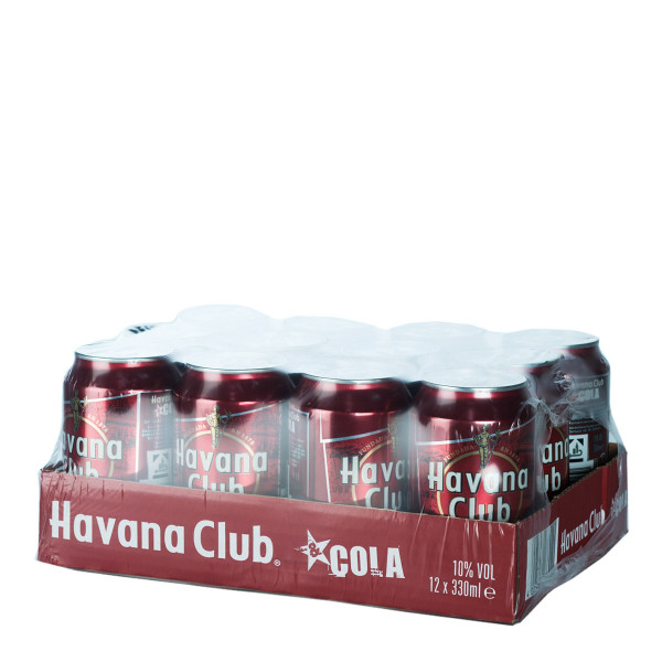Havana Club & Cola Mix 12 x 0,33l