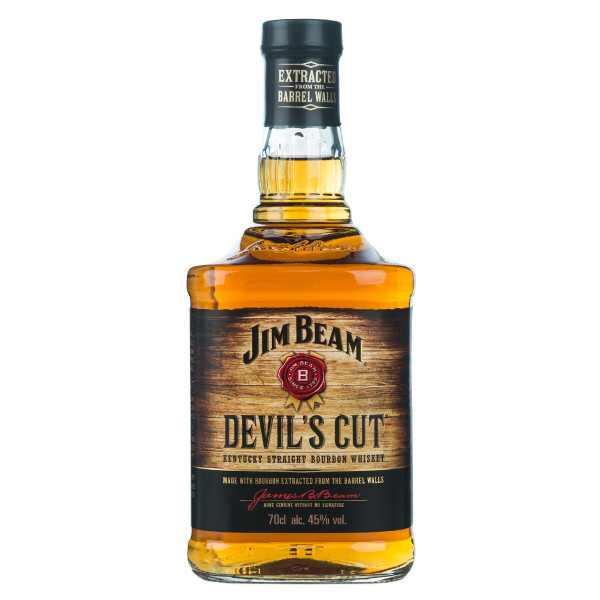 Jim Beam Devils Cut Bourbon Whiskey 0,7l
