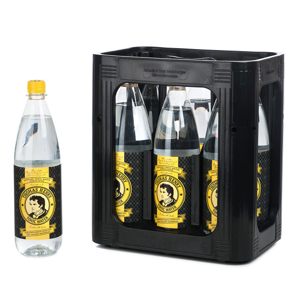 Thomas Henry Tonic Water in der 1l PET Flasche