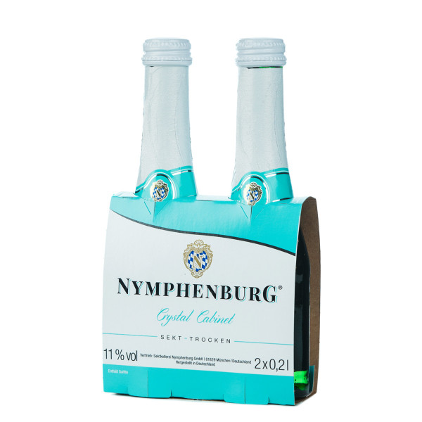 Nymphenburg Crystal Cabinet 2 x 0,2l