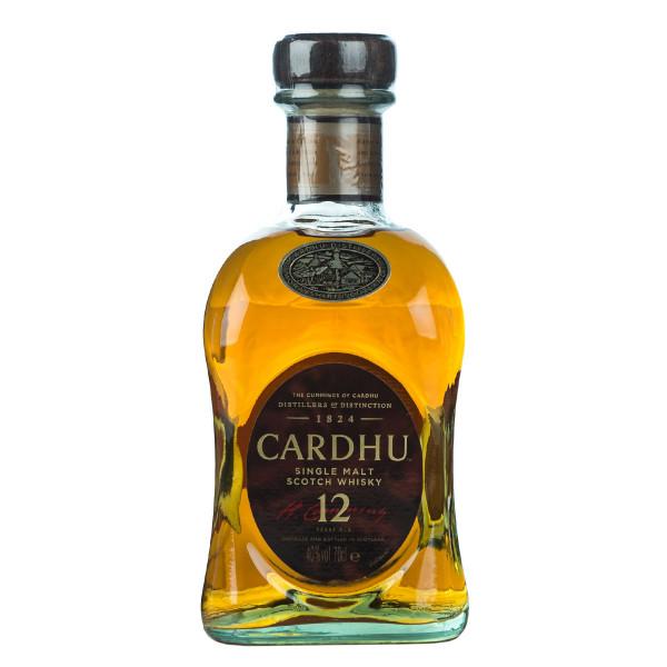 Cardhu 12 Jahre Single Malt Scotch Whisky 0,7l