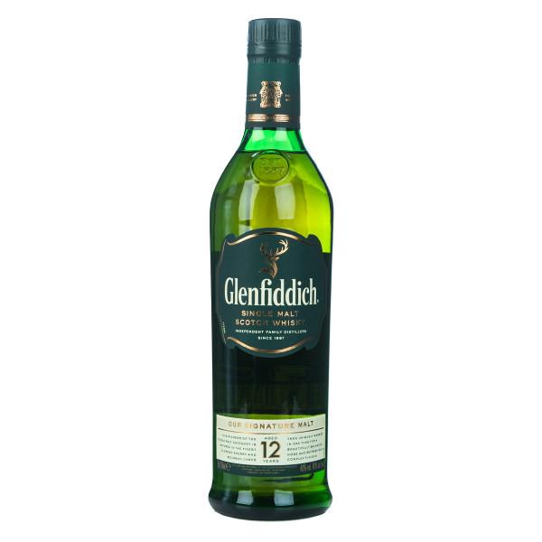 Glenfiddich Signature Malt 12 Jahre Single Malt Scotch Whisky 0,7l