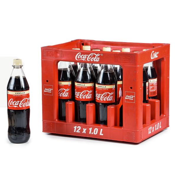 Coca Cola Vanilla PET 12 x 1l