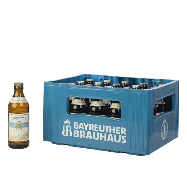 Bayreuther Hell 20 x 0,33l