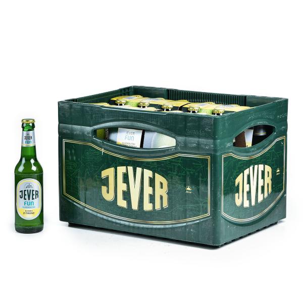 Jever Fun Zitrone 24 x 0,33l