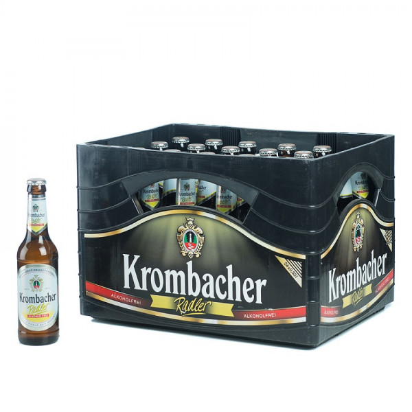 Krombacher Radler alkoholfrei 24 x 0,33l