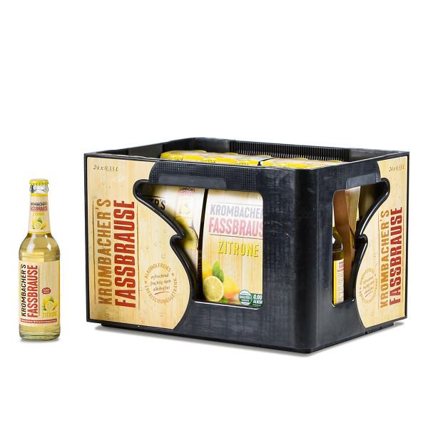 Krombachers Fassbrause Zitrone 24 x 0,33l