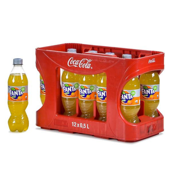 Fanta Orange 12 x 0,5l im Kasten