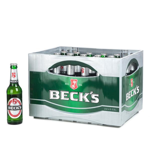 Becks Pilsener 24 x 0,33l