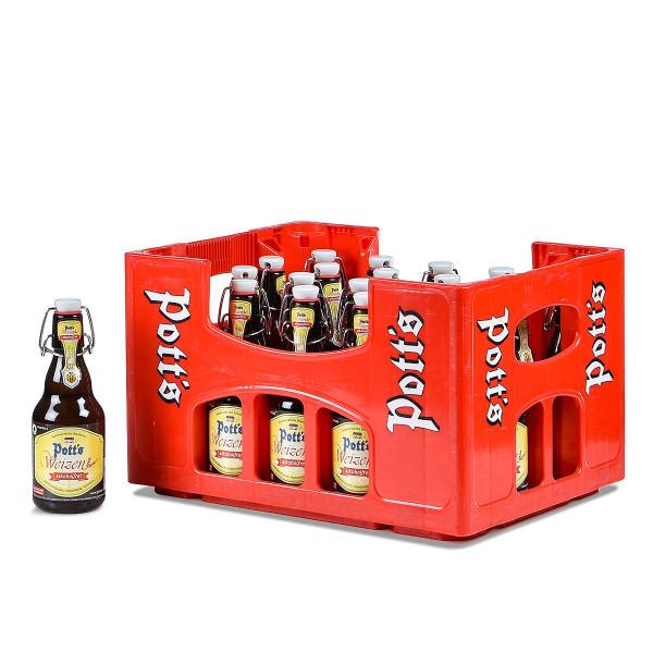 Pott's Weizen alkoholfrei Bügelflasche 20 x 0,33l