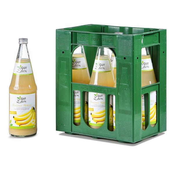 Gut Eden Bananen-Nektar 6 x 1l