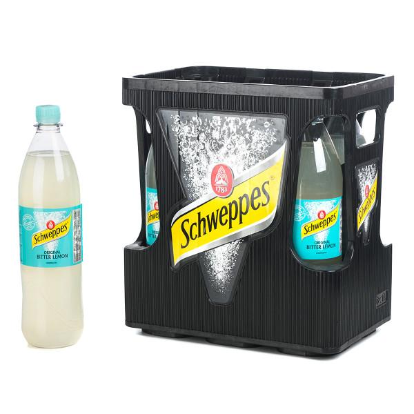 Schweppes Bitter Lemon 6 x 1l