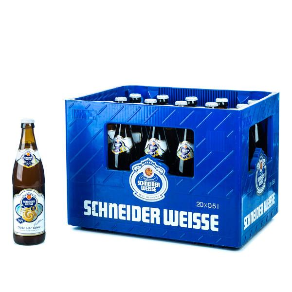 Schneider Weisse Hell TAP1 - 20 x 0,5l