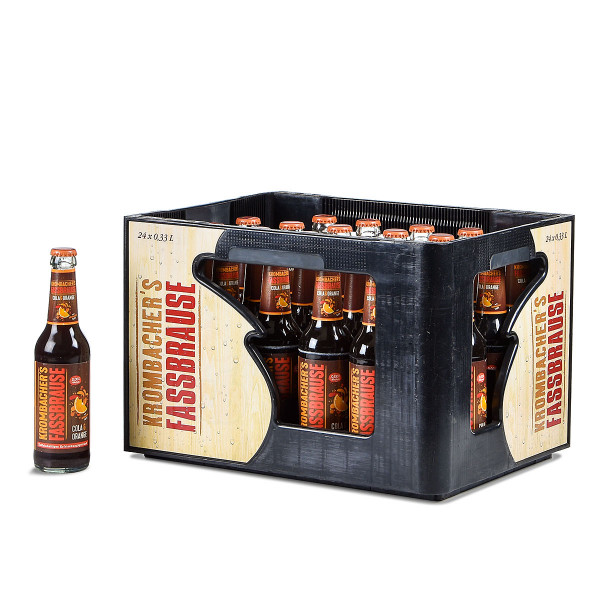 Krombacher Fassbrause Cola & Orange 24 x 0,33l