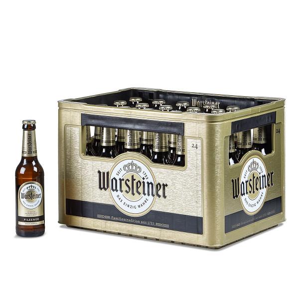 Warsteiner Pils 24 x 0,33l