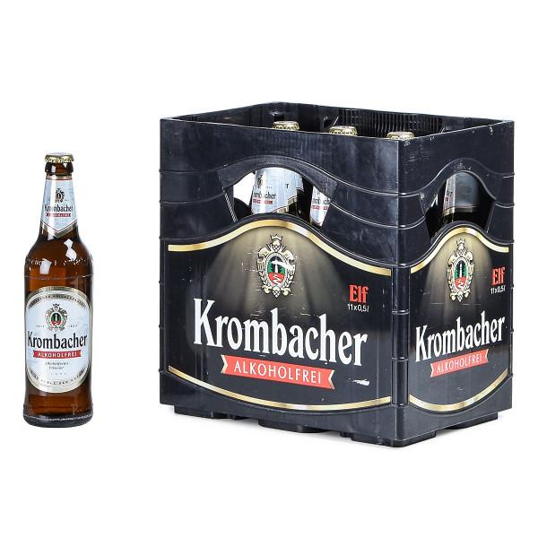 Krombacher alkoholfrei 11 x 0,5l