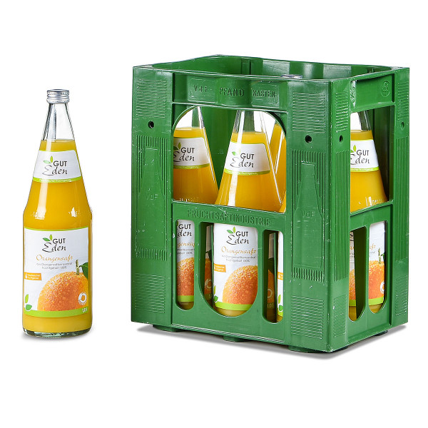 Gut Eden Orangensaft 6 x 1l