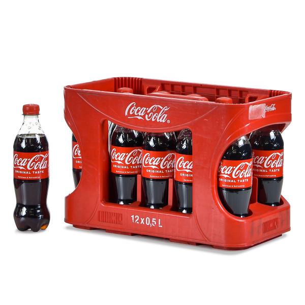 Coca-Cola 12 x 0,5l im Kasten