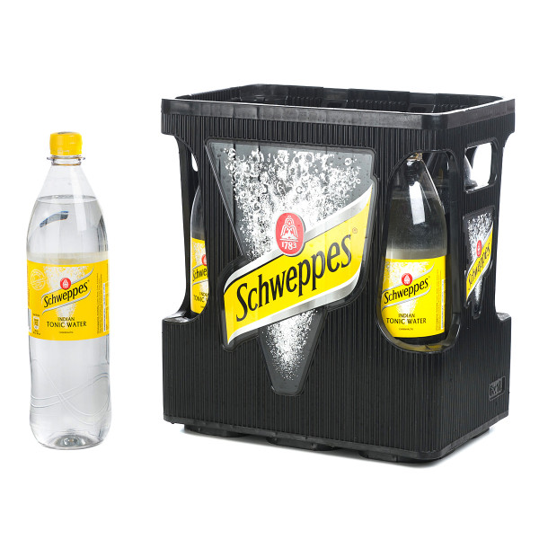 Schweppes Indian Tonic Water 6 x 1l