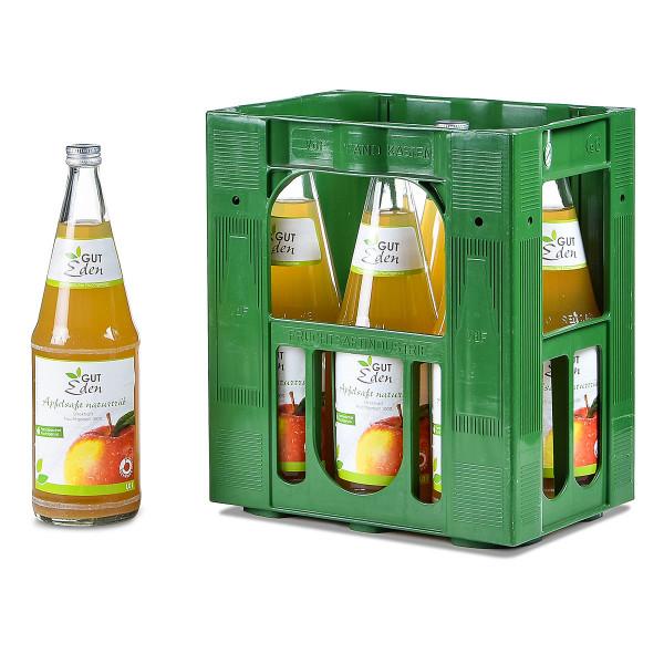 Gut Eden Apfelsaft naturtrüb 6 x 1l