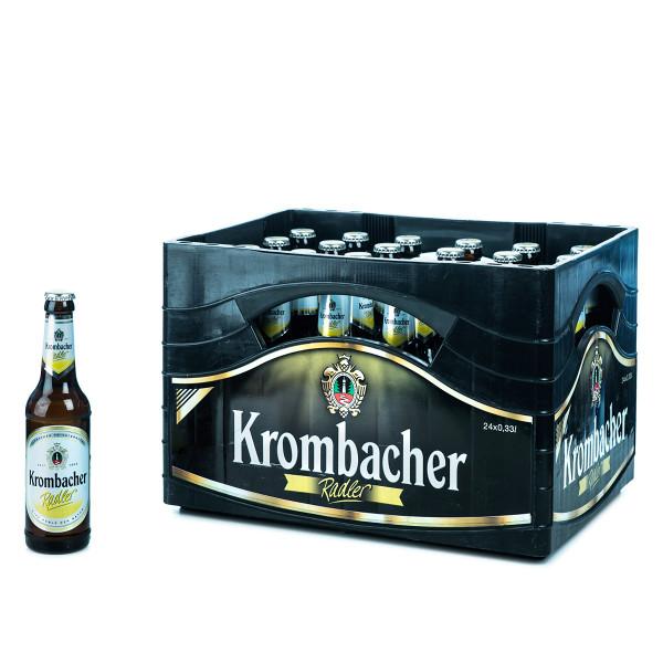 Krombacher Radler 24 x 0,33l