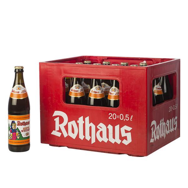 Rothaus Hefe Weizen 20 x 0,5l