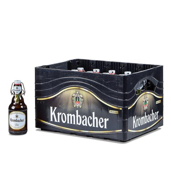 Krombacher Pils Bügelflasche 20 x 0,33l