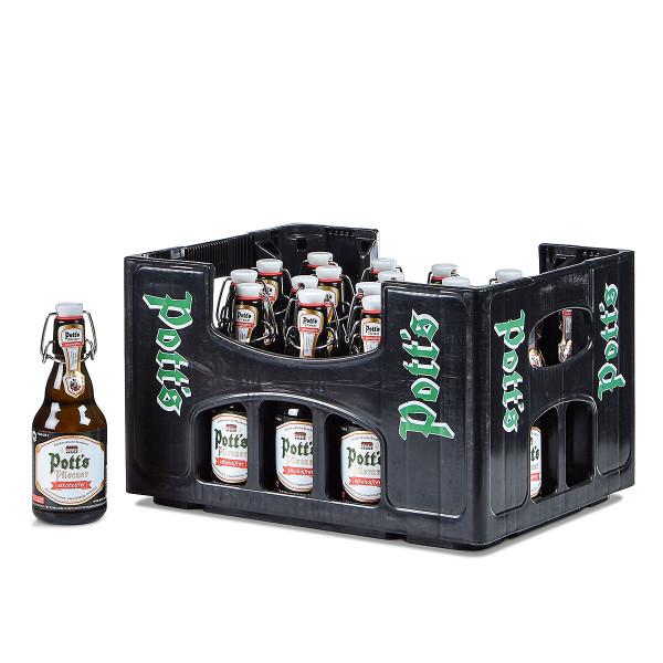 Pott's Pilsener alkoholfrei Bügelflasche 20 x 0,33l