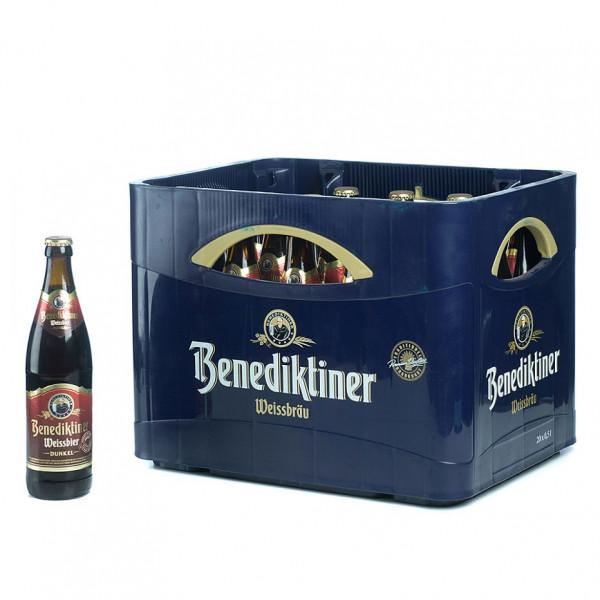 Benediktiner Weißbier Dunkel 20 x 0,5l