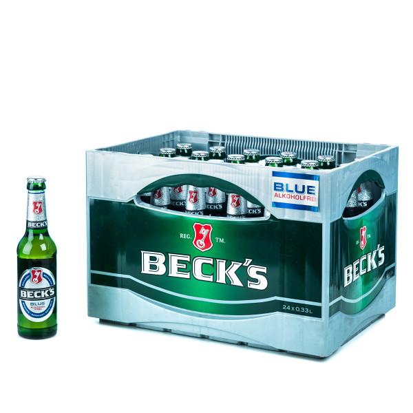 Becks Blue Alkoholfrei 24 x 0,33l