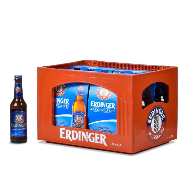 Erdinger Weißbier Alkoholfrei 24 x 0,33l