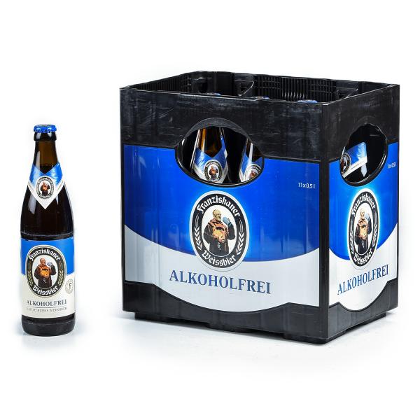 Franziskaner Weißbier Alkoholfrei 11 x 0,5l