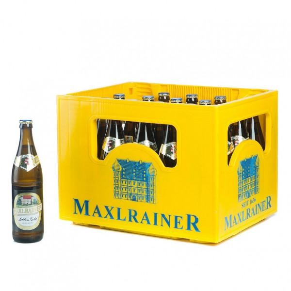 Maxlrainer Schloss Gold Export 20 x 0,5l