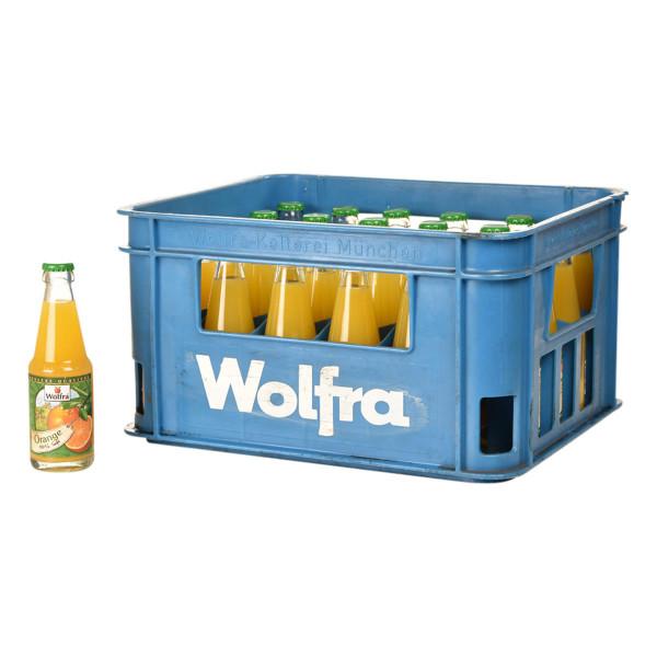 Wolfra Orangensaft 30 x 0,2l