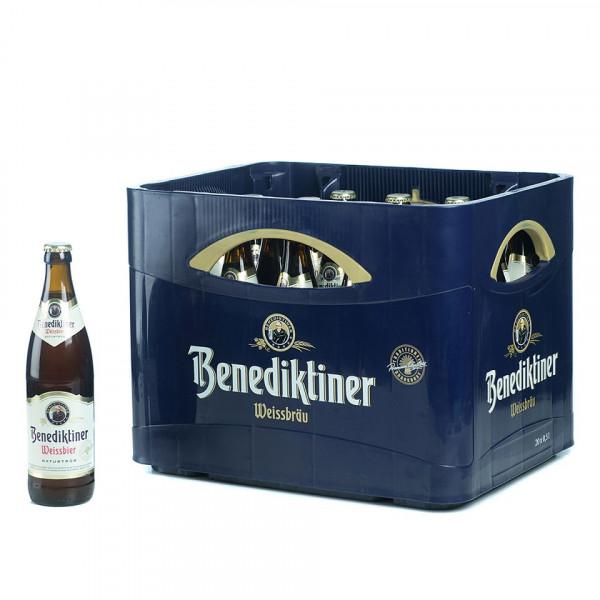 Benediktiner Weißbier Naturtrüb 20 x 0,5l