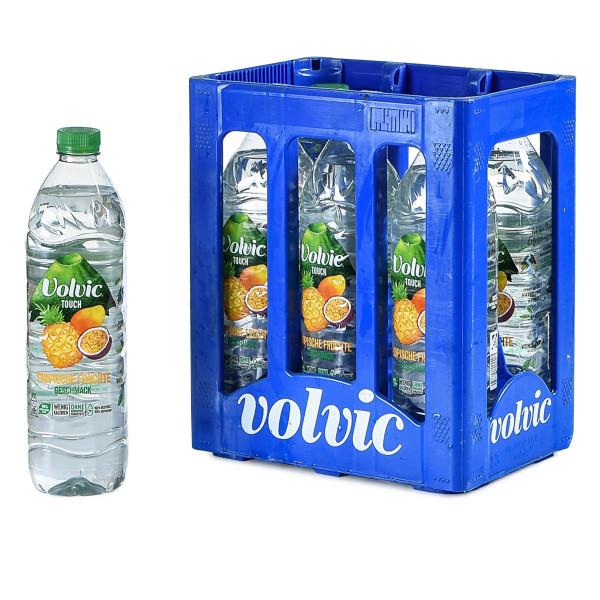Volvic Tropische Früchte 6 x 1,5l