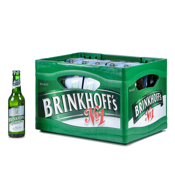 Brinkhoffs Alkoholfrei 24 x 0,33l