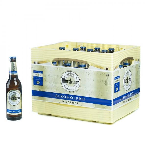 Warsteiner Premium Alkoholfrei 20 x 0,5l