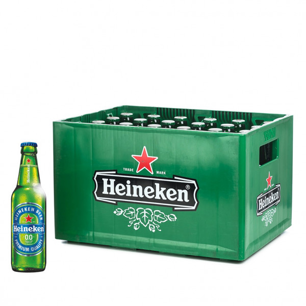 Heineken Pilsener 0,0 alkoholfrei 24 x 0,33l