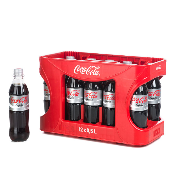 Coca-Cola light 12 x 0,5l PET