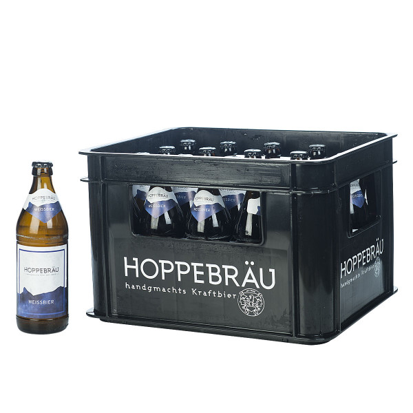 Hoppebräu Weißbier 20 x 0,5l