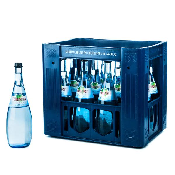 Teinacher Gourmet Medium 12 x 0,75l Glas