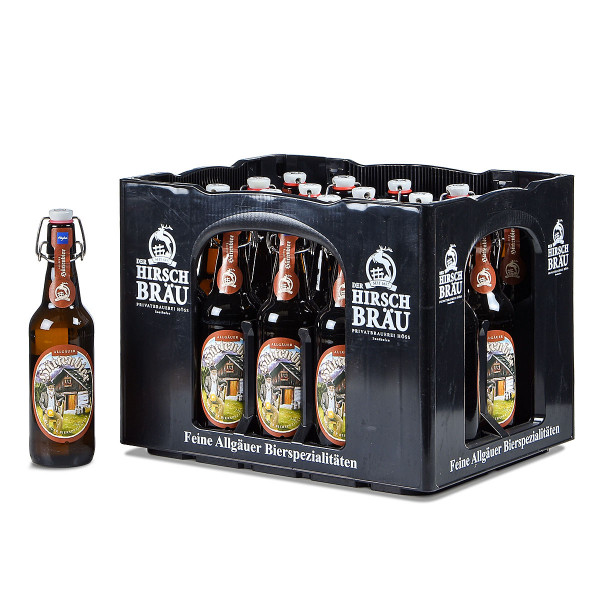 Höss Allgäuer Hüttenbier 20 x 0,5l Bügelflasche