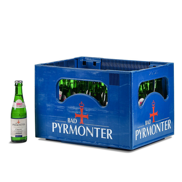 "Pyrmonter Classic ""Vichy"" 24 x 0,25l Glas"