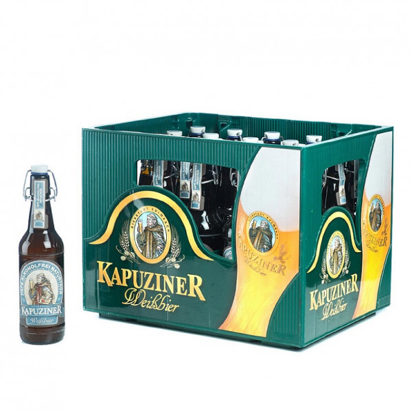 Kapuziner Weißbier Alkoholfrei 20 x 0,5l